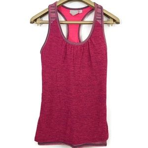 Athleta Royal Pigeon Racerback Tank Top Stretch